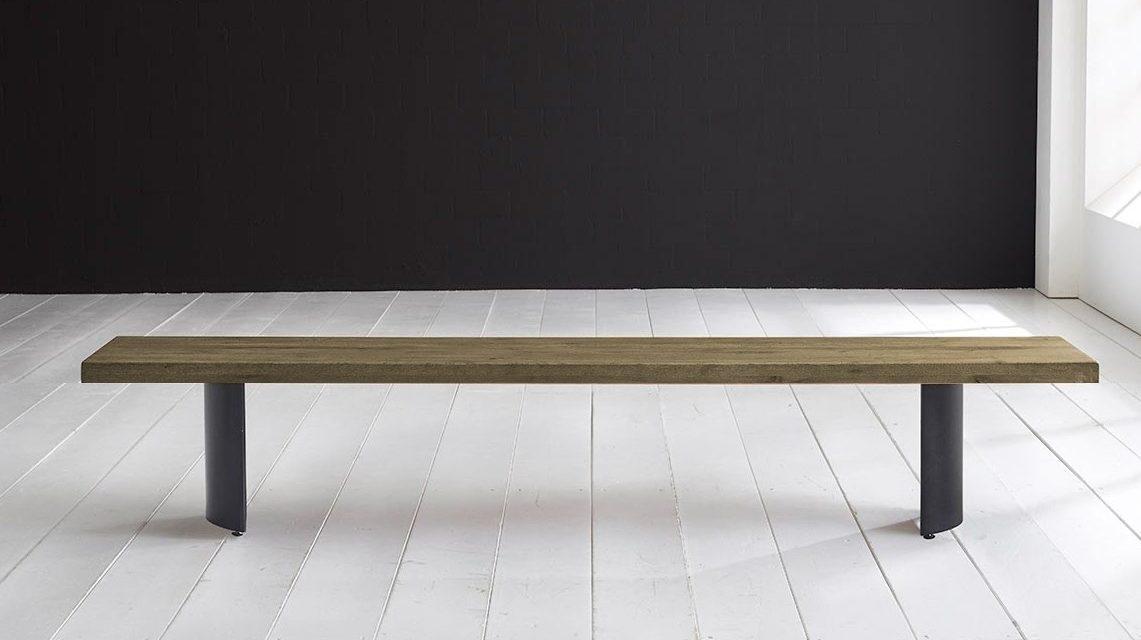 Concept 4 You Spisebordsbænk – Arc-ben 180 x 40 cm 6 cm 05 = sand