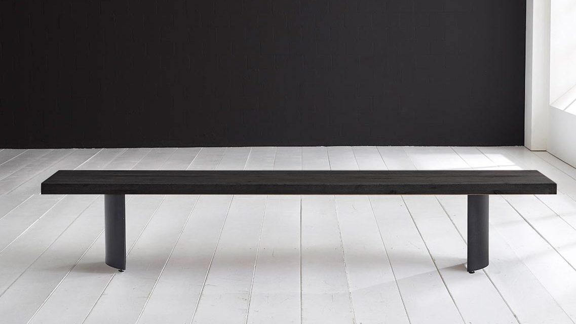 Concept 4 You Spisebordsbænk – Arc-ben 240 x 40 cm 6 cm 07 = mocca black