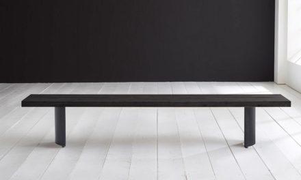 Concept 4 You Spisebordsbænk – Arc-ben 220 x 40 cm 6 cm 07 = mocca black
