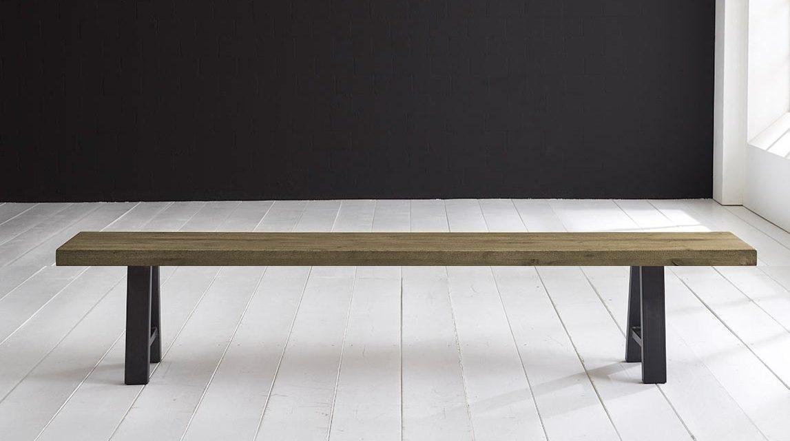 Concept 4 You Spisebordsbænk – Halo-ben 180 x 40 cm 6 cm 05 = sand