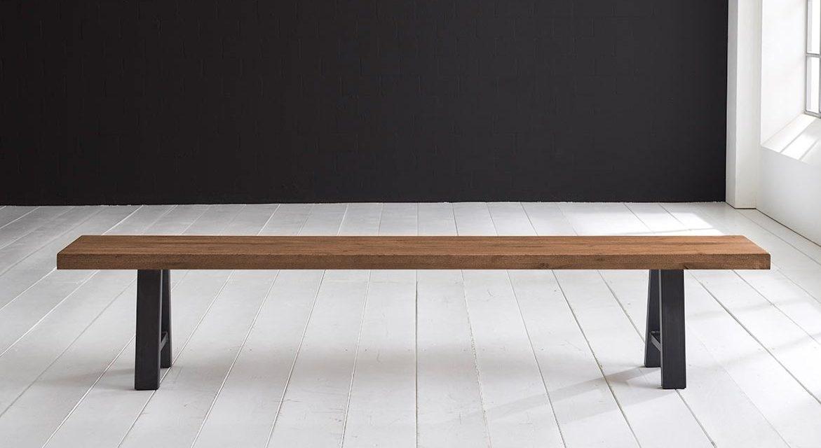 Concept 4 You Spisebordsbænk – Halo-ben 180 x 40 cm 6 cm 01 = olie