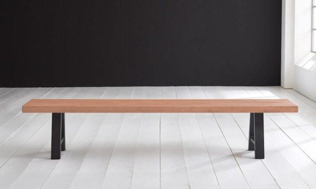 Concept 4 You Spisebordsbænk – Halo-ben 220 x 40 cm 6 cm 03 = white wash