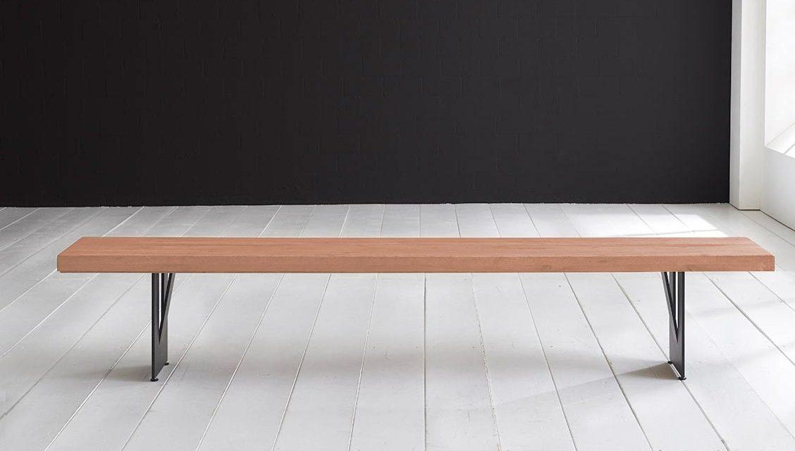 Concept 4 You Spisebordsbænk – Steven Ben 200 x 40 cm 6 cm 03 = white wash