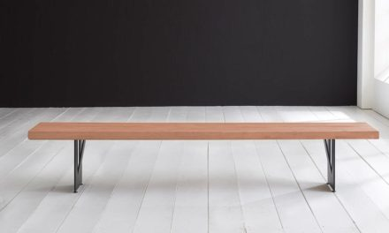 Concept 4 You Spisebordsbænk – Steven Ben 240 x 40 cm 6 cm 03 = white wash