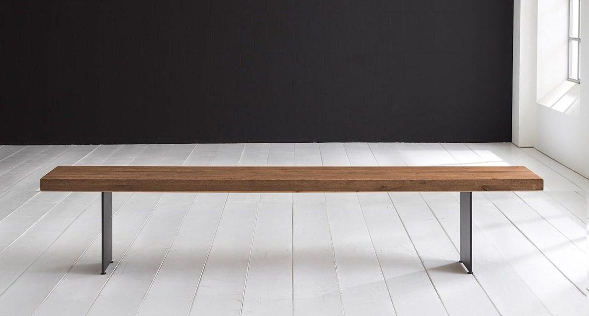 Concept 4 You Spisebordsbænk – Line Ben 220 x 40 cm 6 cm 01 = olie