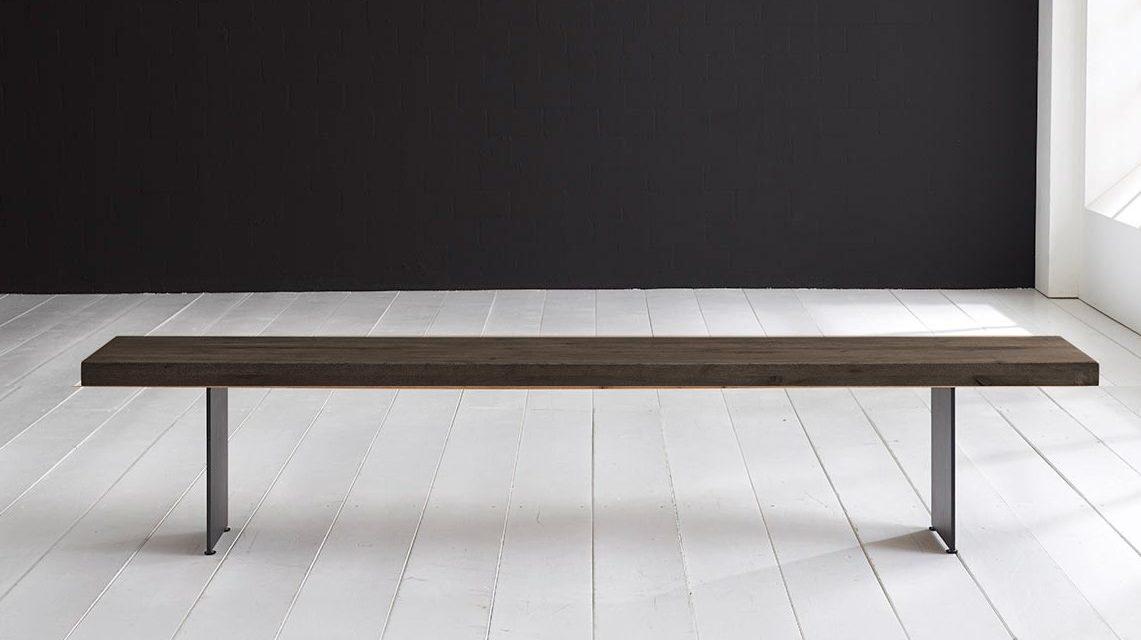 Concept 4 You Spisebordsbænk – Line Ben 300 x 40 cm 6 cm 02 = smoked