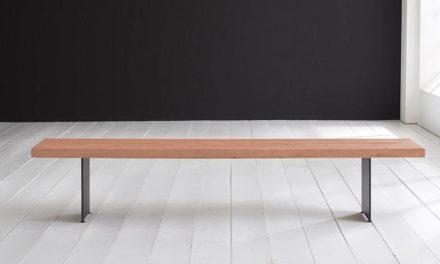 Concept 4 You Spisebordsbænk – Line Ben 240 x 40 cm 6 cm 03 = white wash