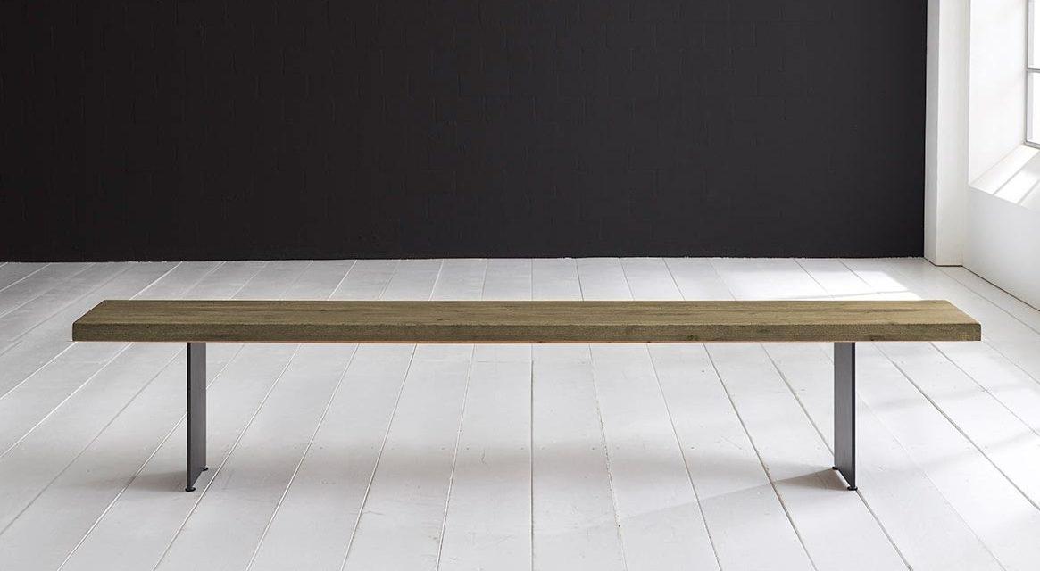 Concept 4 You Spisebordsbænk – Line Ben 300 x 40 cm 6 cm 05 = sand