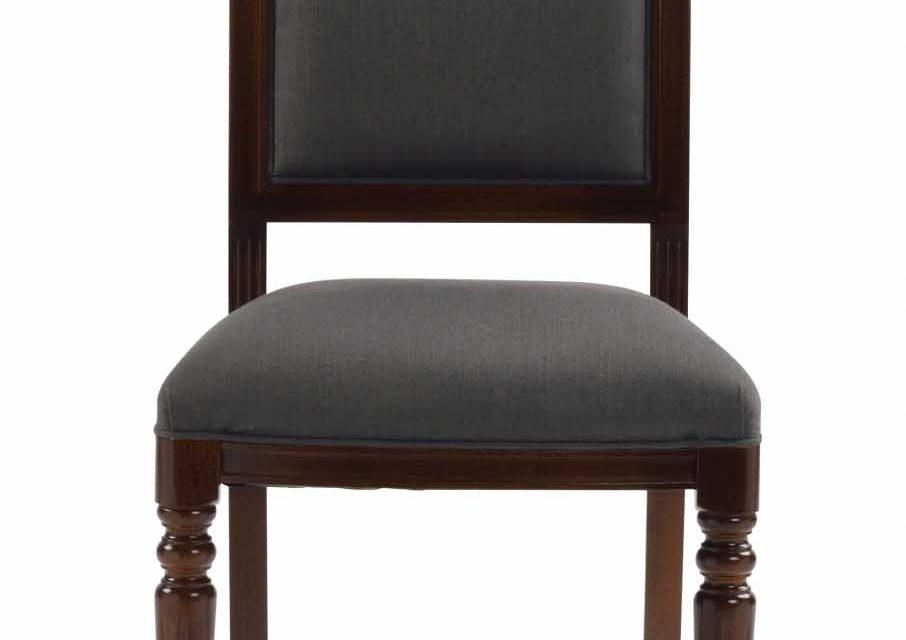 Mozart spisebordsstol – valnød/brun