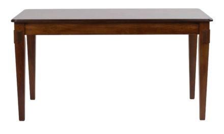 Mozart spisebord – valnøddebrun m. udtræk