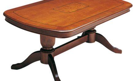 Mozart sofabord – valnøddebrun