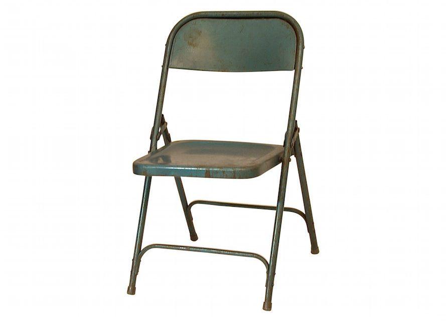 Så er den her – Flot Original blå klapstol fra Själsö Nordic