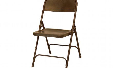Jern Original grå klapstol fra Själsö Nordic til boligen