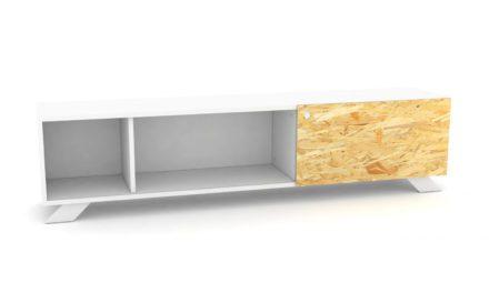 K2 Depot – 1800-1 Skråben Hvid Originale K2 låger
