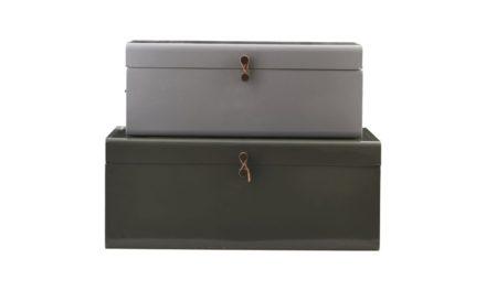 HOUSE DOCTOR kuffertsæt, Metal
