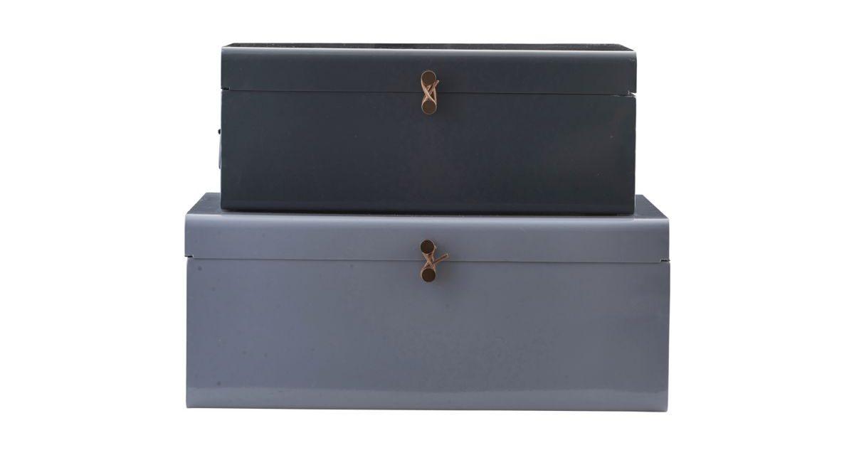 HOUSE DOCTOR Storage kuffertsæt, Metal