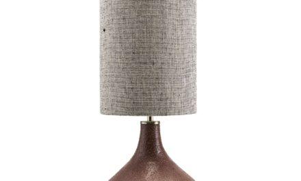 HOUSE DOCTOR Lampe Base Diya Brændt Henna