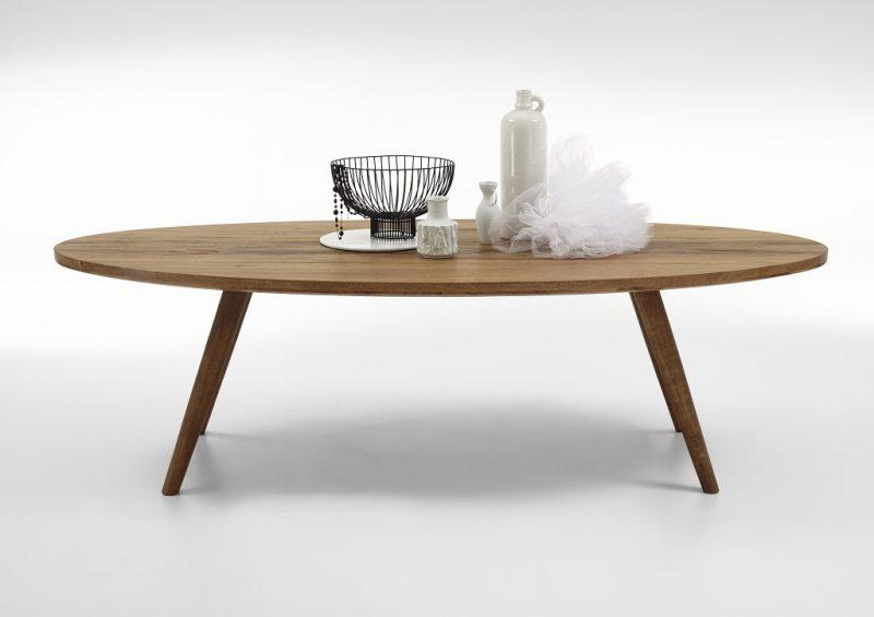 BODAHL Elipse plankebord – Olieret eg 220 x 115 cm 01 = olie