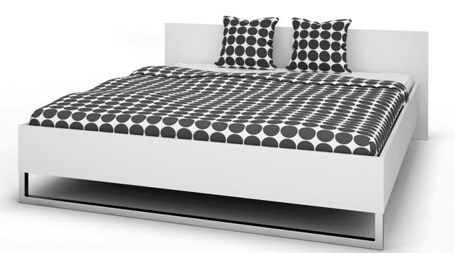 Style sengeramme – hvid 180×200