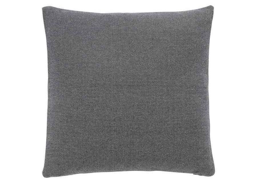 HÜBSCH pude – grå bomuld (50×50)