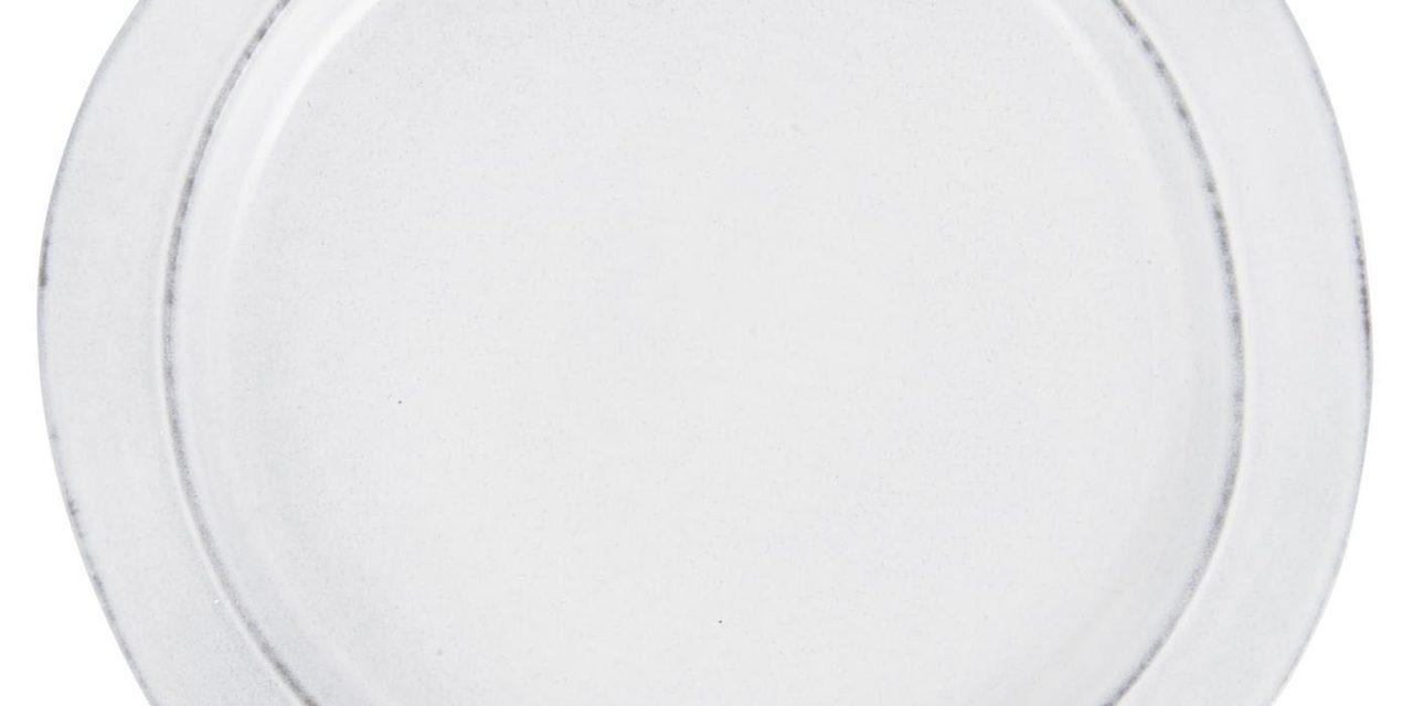 IB LAURSEN frokosttallerken – gråt stentøj