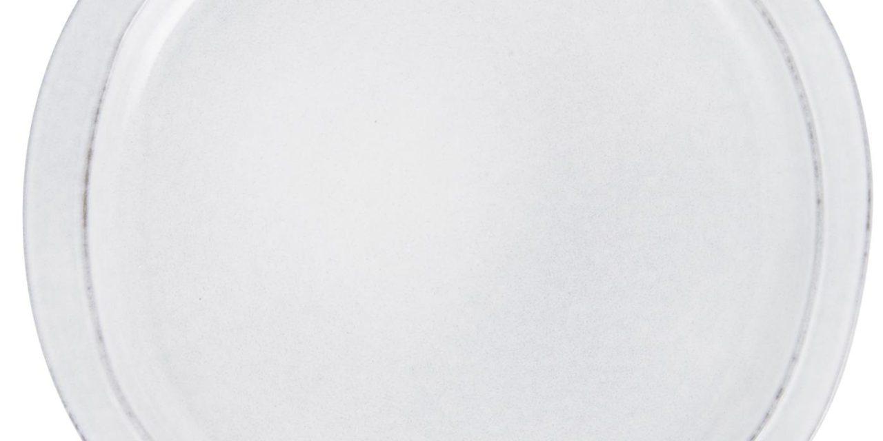 IB LAURSEN middagstallerken – gråt stentøj