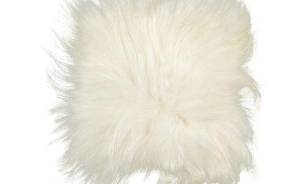 HÜBSCH Stolehynde m/folie , hvid