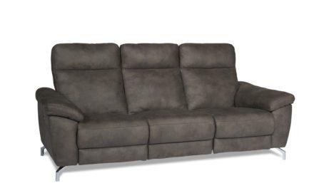 FurnHouse Selesta 3 seater sofa i flot grå stof
