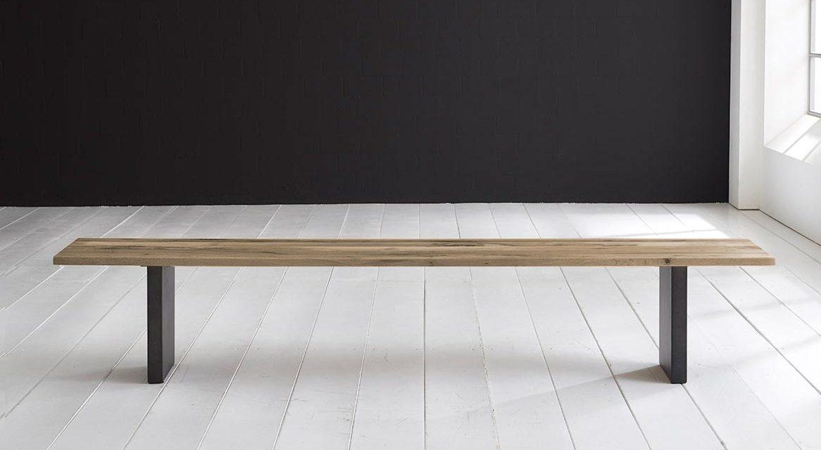 Concept 4 You Spisebordsbænk – T-Ben 180 x 40 cm 3 cm 04 = desert