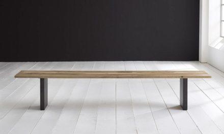 Concept 4 You Spisebordsbænk – T-Ben 260 x 40 cm 3 cm 04 = desert