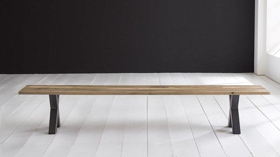 Concept 4 You Spisebordsbænk – Freja ben 180 x 40 cm 3 cm 04 = desert