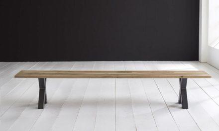 Concept 4 You Spisebordsbænk – Freja ben 240 x 40 cm 3 cm 04 = desert
