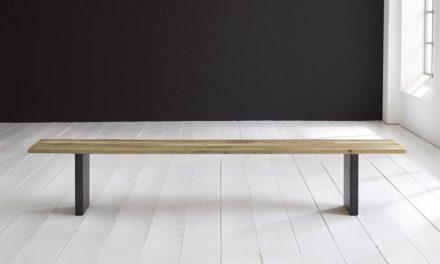 Concept 4 You Spisebordsbænk – T-Ben 260 x 40 cm 3 cm 05 = sand