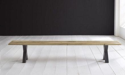 Concept 4 You Spisebordsbænk – Freja ben 240 x 40 cm 3 cm 05 = sand