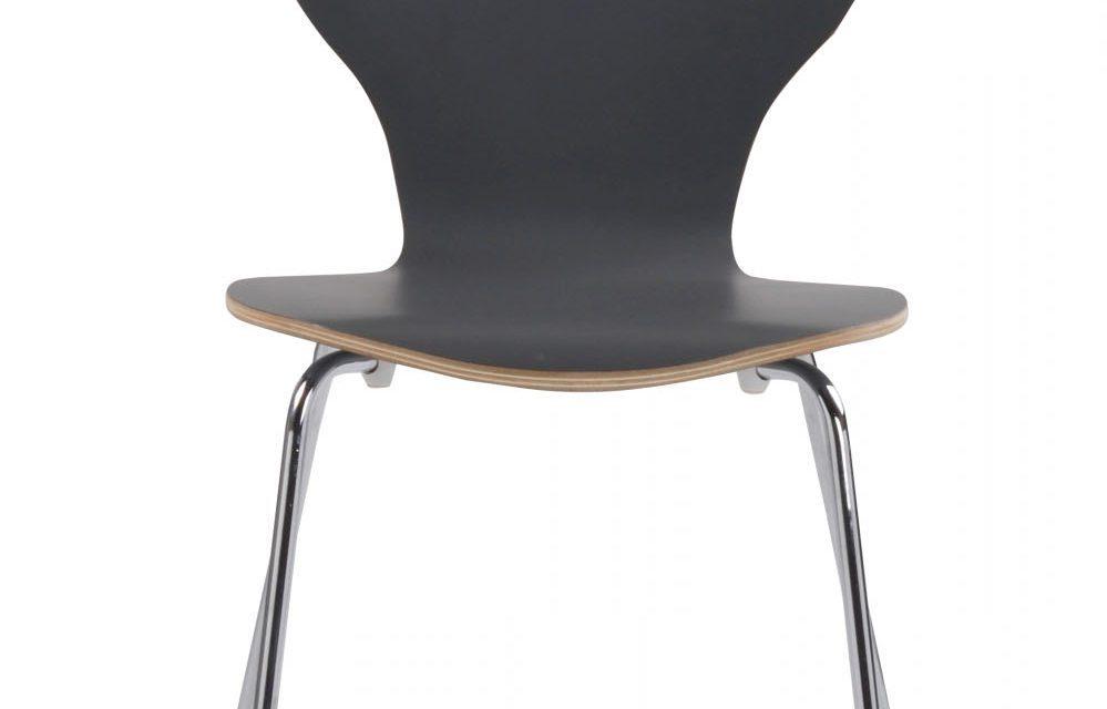 Fusion skalstol – grafitgrå/krom