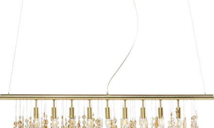 Loftslampe Klunker Deluxe Messing 120 cm
