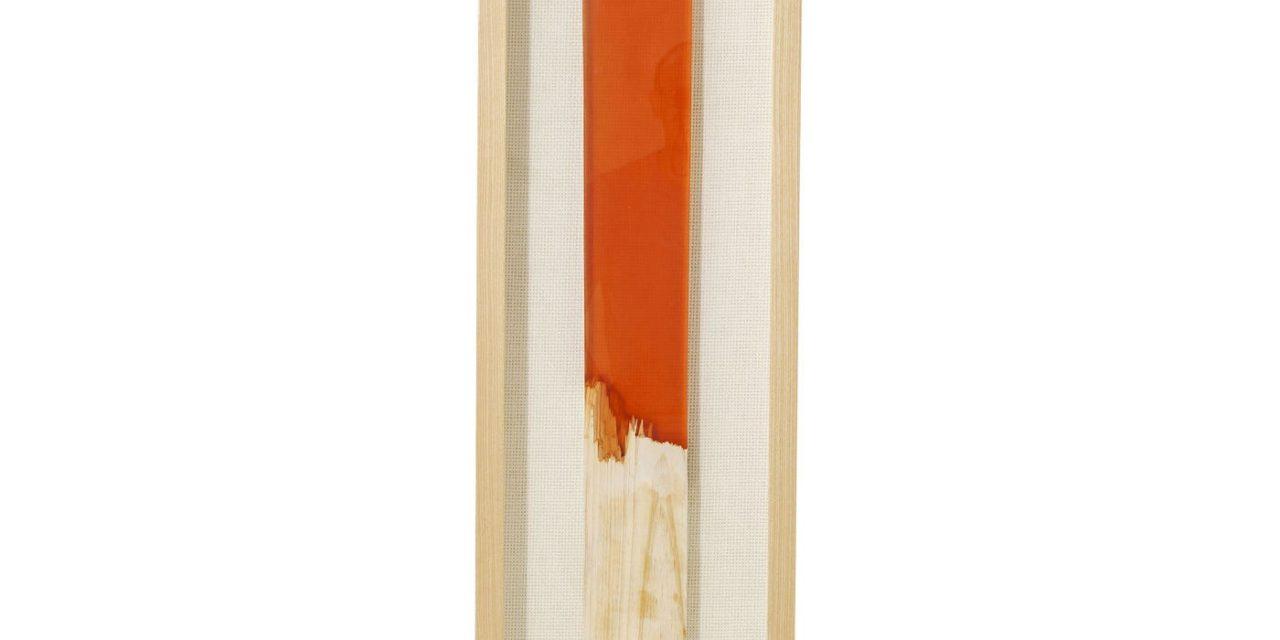 Vægdekoration Frame Match Orange 120 x 30 cm