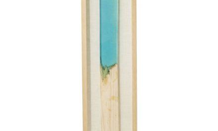 Vægdekoration Frame Match Blue 120 x 30 cm