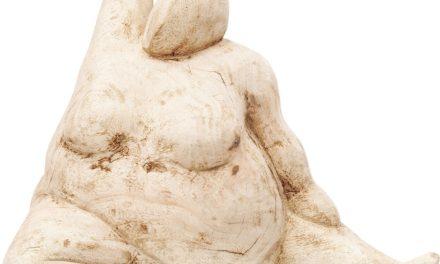 Dekoration Figur Streching Girl