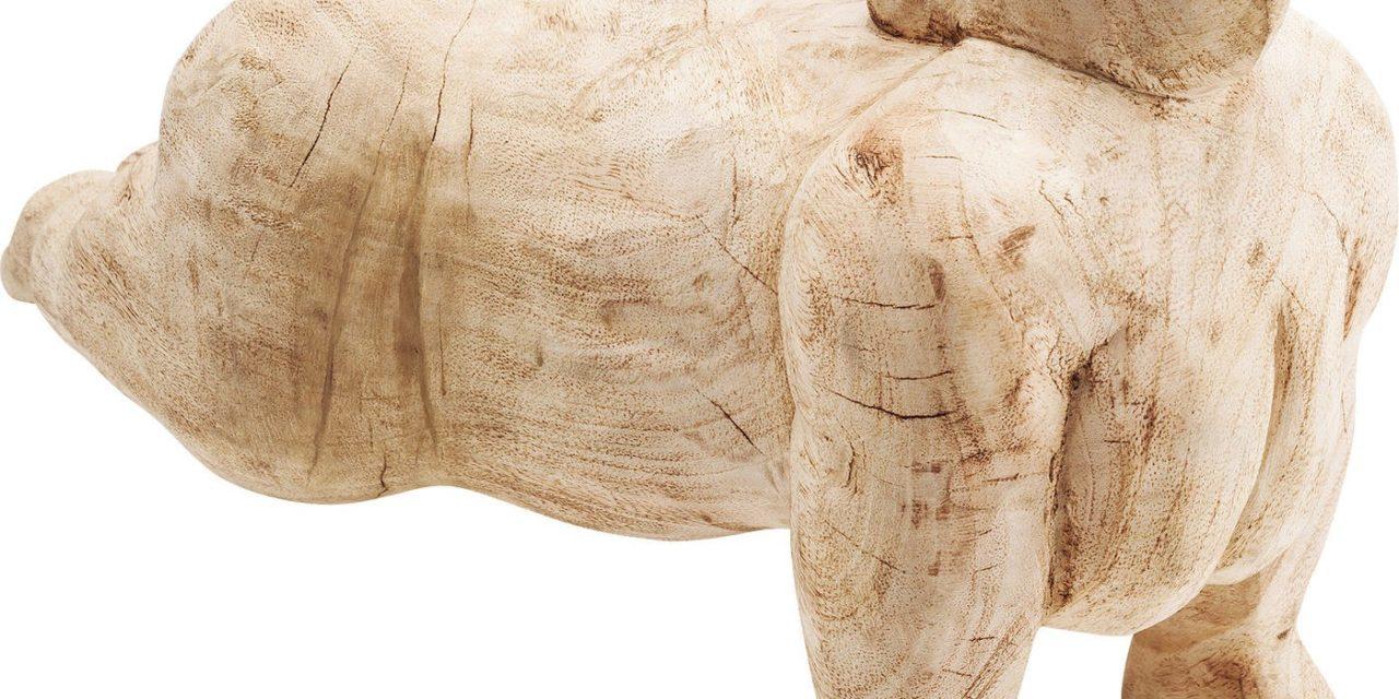 Dekoration Figur Plank Girl