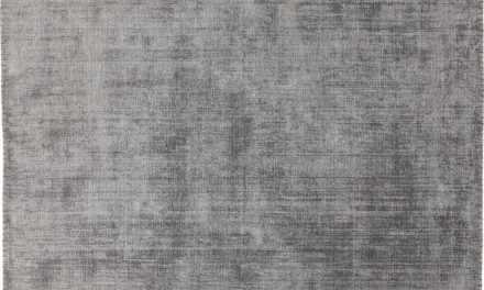 Tæppe Loom Stich Grå 170 x 240 cm