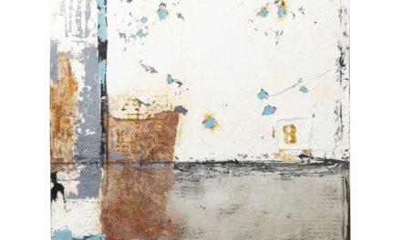 Oliemaleri Abstrakt Stroke Two 120 x 90 cm