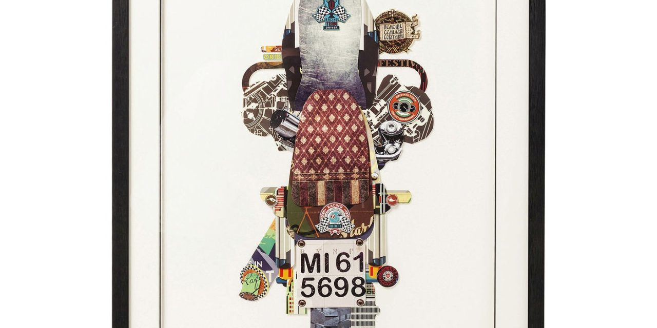 Billede Frame Art Motorbike 107 x 69 cm