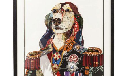 Billede Frame Art General Dog 90 x 72 cm