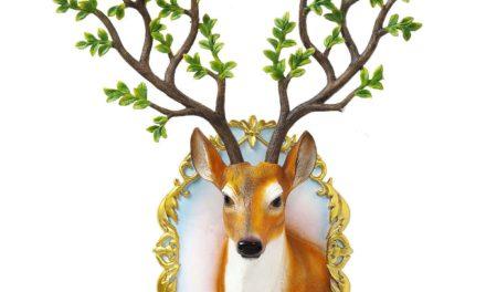 Vægdekoration Antler Deer Forest