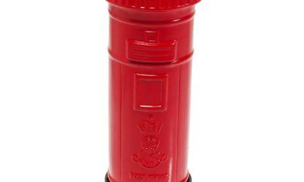 Gulv Askebæger London Mail Box 60 cm