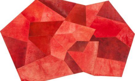 Tæppe Asymmetrisk Rød 240 x 170 cm