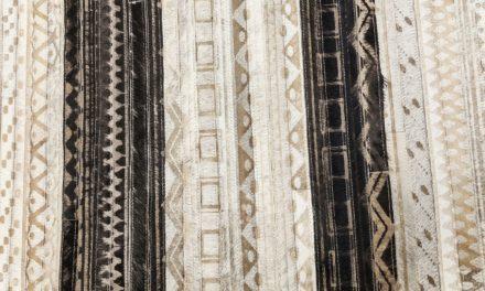 Tæppe Hieroglyphics Stripes 240 x 170 cm