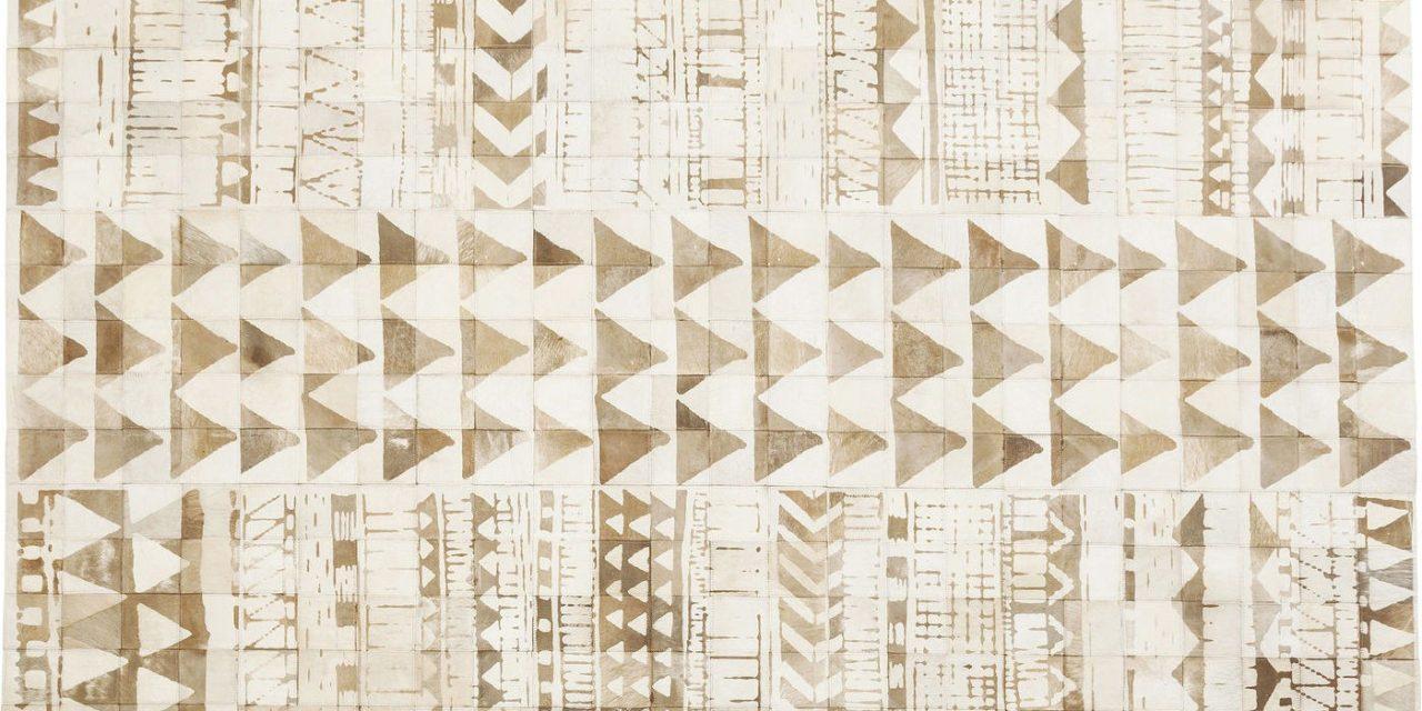 Tæppe Hieroglyphics Square 240 x 170 cm