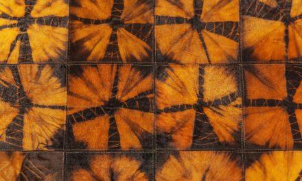 Tæppe Batik Orange 240 x 170 cm